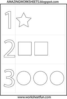 endless free printable worksheets on every subject in every grade starting in preschool - Toddler Activities Printables