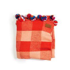 kip & co pom pom blanket - Google Search