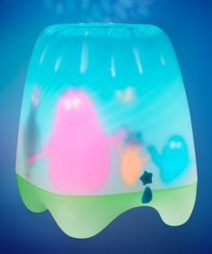 Barbapapa Carousel Lamp  by Kids Bedroom Interiors