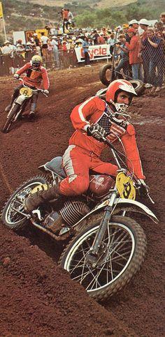 Vintage Husqvarna Motocross