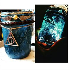 Harry Potter inspired soy candle by Thosegalacticgifts on Etsy