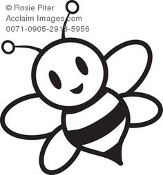 Bumble Bee Coloring Page