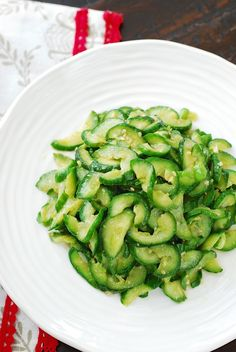 Korean cucumber side dish