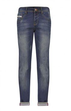 Ανδρικό παντελόνι ντένιμ πεντάτσεπο  PANT-4979 Παντελόνια τζίν - Jeans & denim Jeans Denim, Pants, Fashion, Trouser Pants, Moda, Fashion Styles, Women's Pants, Women Pants, Fashion Illustrations