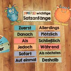 Pin on Deutsch Teaching Schools, Teaching First Grade, Teaching Kids, Farewell Gifts, German Language Learning, Becoming A Teacher, Interactive Notebooks, Primary School, School Projects