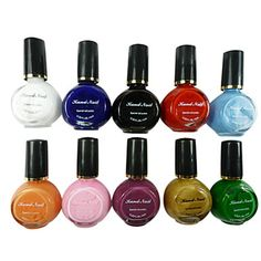 10 Colors  Pure Colors UV Builder Gel Nail Art 10ML – EUR € 1.59