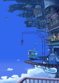Cities In The Sky Collection - pixiv Spotlight
