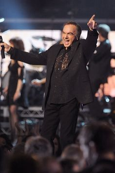 51st Annual Grammy Awards  Neil Diamond performs during the 51st Annual Grammy Awards at the Staples Center in Los Angeles on February 8th, 2009.