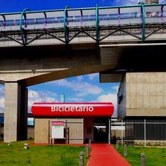 Intermodal #ciclootimismo  (Estação Tamanduateí de metrô, São Paulo, SP)
