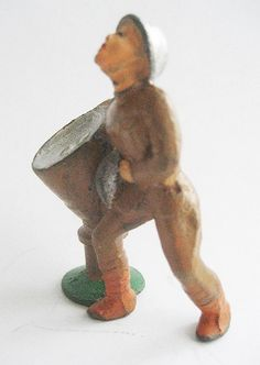 Vintage Manoil 47 juguete soldado plomo M75 por ToySoldierShop