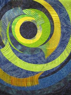 Contemporary quilt by Jamie Malden - beautiful quilting
