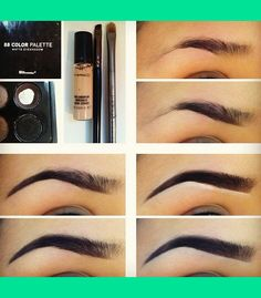 how to fill in eyebrow | Jessica C.'s (beaautyforever101) Photo | Beautylish