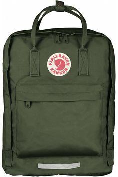 Fjallraven Kanken Big Backpack Forest Green - Fjallraven Kanken #kanken #backpack #backtoschool