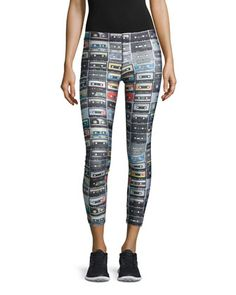 Mix+Tape+Performance+Leggings+by+Terez+at+Neiman+Marcus.