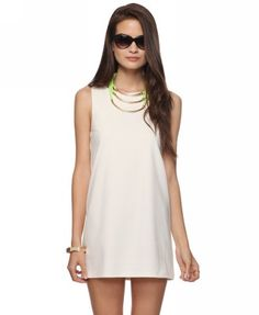 love this shift dress & perfect for wedding stuff under $16.00. fab!!