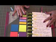 ▶ Arc Discbound Staples Planner Bible Journal Set Up - using JW.ORG printables