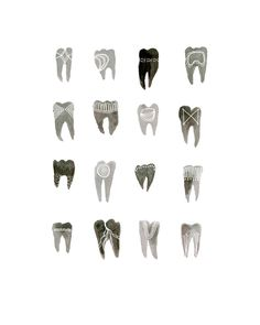 Katie Vernon, Symbolic Teeth, 8x10 print. $20.00, via Etsy.