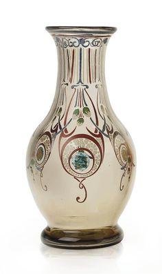 Schneider glass vase, 1905.