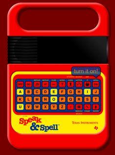 Old School  Speak 'n' Spell