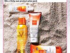 Canadian Health & Lifestyle Vichy Sun Product Contest