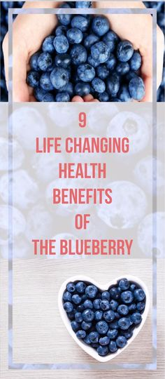 Here are 9 of the most common health benefits that blueberries provide.