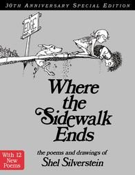@Overstock - The Poems and Drawings of Shel Silversteinhttp://www.overstock.com/Books-Movies-Music-Games/Where-the-Sidewalk-Ends-by-Shel-Silverstein-Hardcover/755229/product.html?CID=214117 $12.78