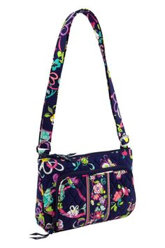 "Vera Bradley Little Hipster in Ribbons, $45 | ""This style will be accompanying us on our holiday shopping trips!"""