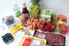 We have teamed up with ALDI to sponsor this post. As always, the opinions are all my own. Summer is almost here, which means lots of BBQs, family events, Aldi Recipes, Kabob Recipes, Sweet And Sour Meatballs, Top Sirloin Steak, Dinner Is Served, Family Events, Kabobs, Fresh Fruit, Summer Recipes