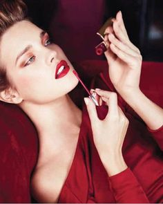Femme Fatale by Guerlain at Neiman Marcus, what fabulous shade of #red