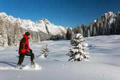 Ciaspole - Dolomiti Friulane (foto Luciano Gaudenzio)