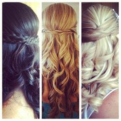Possible bridesmaid hair? Or bride hair!
