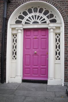 Dublin Door, posted via accidentaloptimist.wordpress.com
