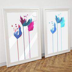 Projekt minimalistycznych obrazów.   #homedecor #homedecorating #painting #poster #flower #minimalism #modern #wnetrza #homeinspiration #inspiration #creaive #art #artwork #modern