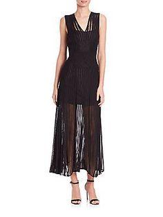 Roberto Cavalli Sleeveless Knit Dress