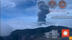 May 5, 2015; 8:00 AM ET  Turrialba, Costa Rica's most active volcano, erupted Monday, May 4. A dark plume of thick smoke and ash was jettisoned 1.5 miles into the sky.