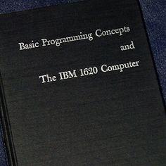1962 IBM 1620 Computer Programming Punch Cards Ferrite Core Memory 368pg FORTRAN