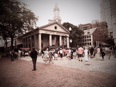 Quincy Market by Jamie Tomassetti