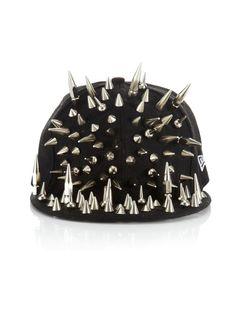 Studded New Era Hat by nilette on Etsy 2b8040c5f215