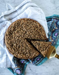 New from How Sweet Eats: Pumpkin Coffee Cake with Chai Ice Cream. Just Desserts, Dessert Recipes, Dessert Ideas, Cookie Recipes, Breakfast Recipes, Pumpkin Coffee Cakes, Pumpkin Pumpkin, Yummy Treats, Sweet Treats