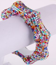 Crystalicious Bamboo Bracelet (Pastel Mix) - $20.00 : K.I.S.S. Boutique!, Keep It Sweet and Sexy