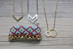 I Spy DIY: QUICK DIY | Layered Necklaces & Bracelets