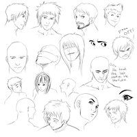 Angled face tips by *chi-u on deviantART