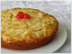 Bizcocho de limón con manzana en olla programable (sin gluten) Sin Gluten, Cooker, Pie, Desserts, House, Pie Cake, Apple Muffins, Delicious Food, Food Drink