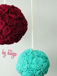 Crepe paper flower ball diy all things crepe tissue paper diy paper flower ball tutorial csinld magad krepp papr virggmb mightylinksfo