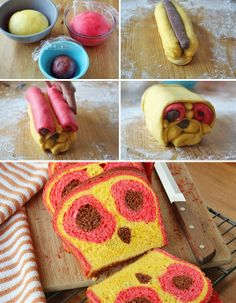 Owl Face Reveal Bread Similar to the panda bread but with a few little tweaks, this owl face is sure to be a hit! Owl faces seem to be plast...