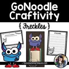 A fun little GoNoodle writing craftivity featuring Freckles! I hope your class enjoys this craftivity! Feedback isn't required, but it's very much appreciated!You might also be interested in:Think Time Pack  PBIS Behavior Matrix