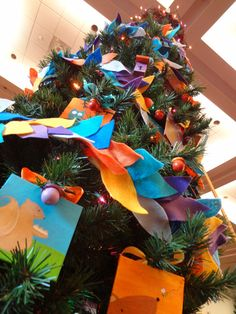 How I decorated my tree for the Festival of Trees - the process - by Heather Cash