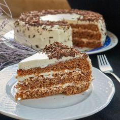 """Мокрый торт"" со сметанным кремом торт, сметанный торт, рецепт, еда, торт со сметанным кремом, выпечка, видео, длиннопост Hungarian Recipes, Russian Recipes, Cake Recipes, Dessert Recipes, Cake Business, Pastry Cake, Ice Cream Recipes, Chocolate Recipes, Food To Make"