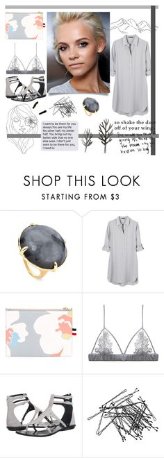 """""""Your other half"""" by alongcametwiggy ❤ liked on Polyvore featuring Ippolita, United by Blue, Thom Browne, Fleur of England, Kendall + Kylie, H&M and PBteen"""