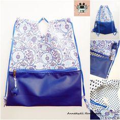 Kék virágos fesztivál vagy shopper táska Shopper, Diaper Bag, Bags, Fashion, Handbags, Moda, Fashion Styles, Diaper Bags, Mothers Bag